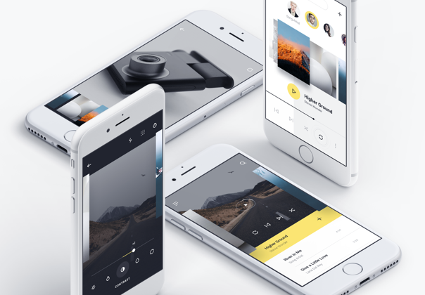 MNML iOS UI Kit — Products on UI8