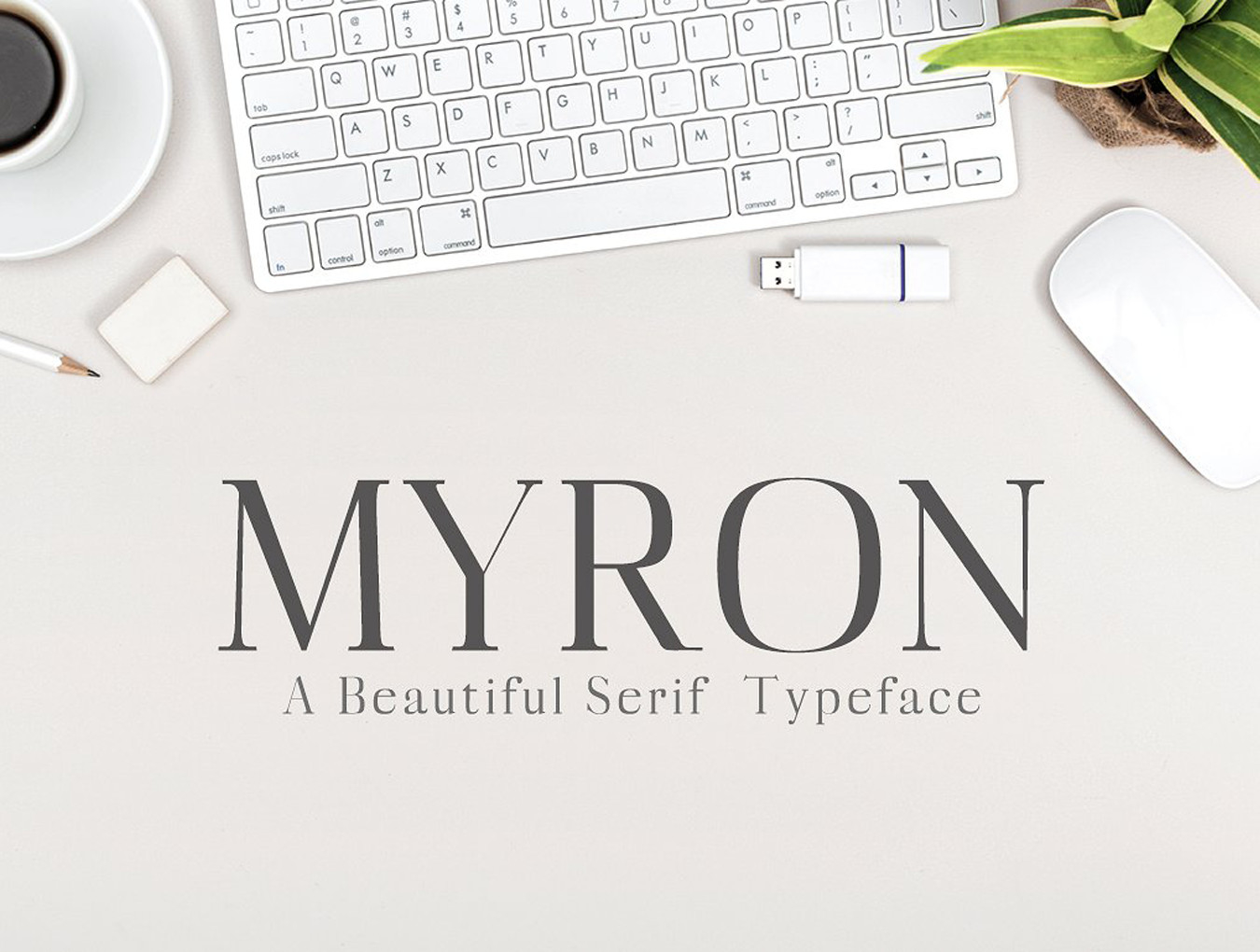 Myron Serif Typeface — Fonts on UI8