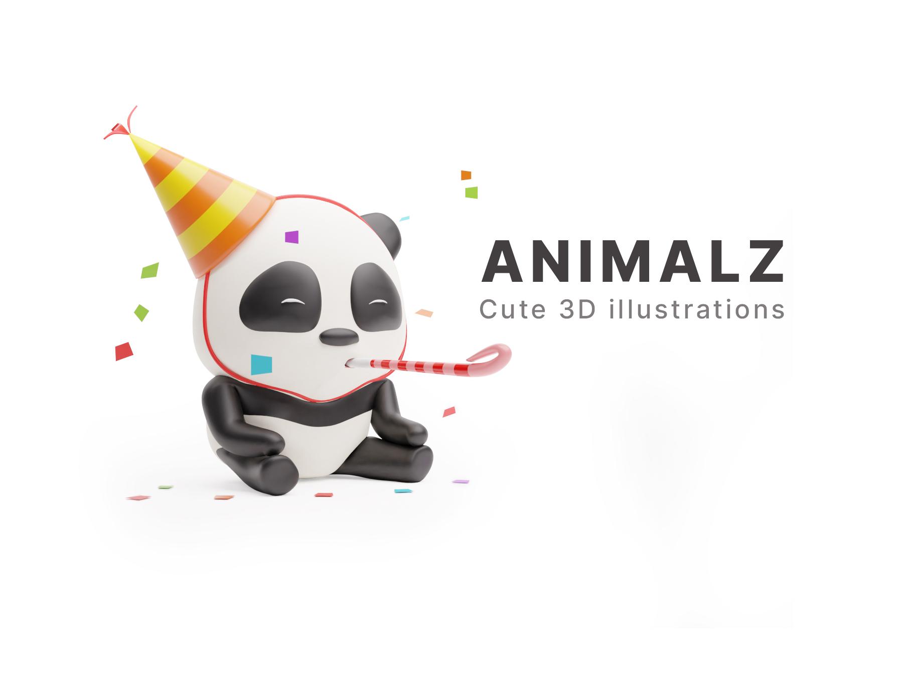 [VIP] ANIMALZ - cute 3D animals