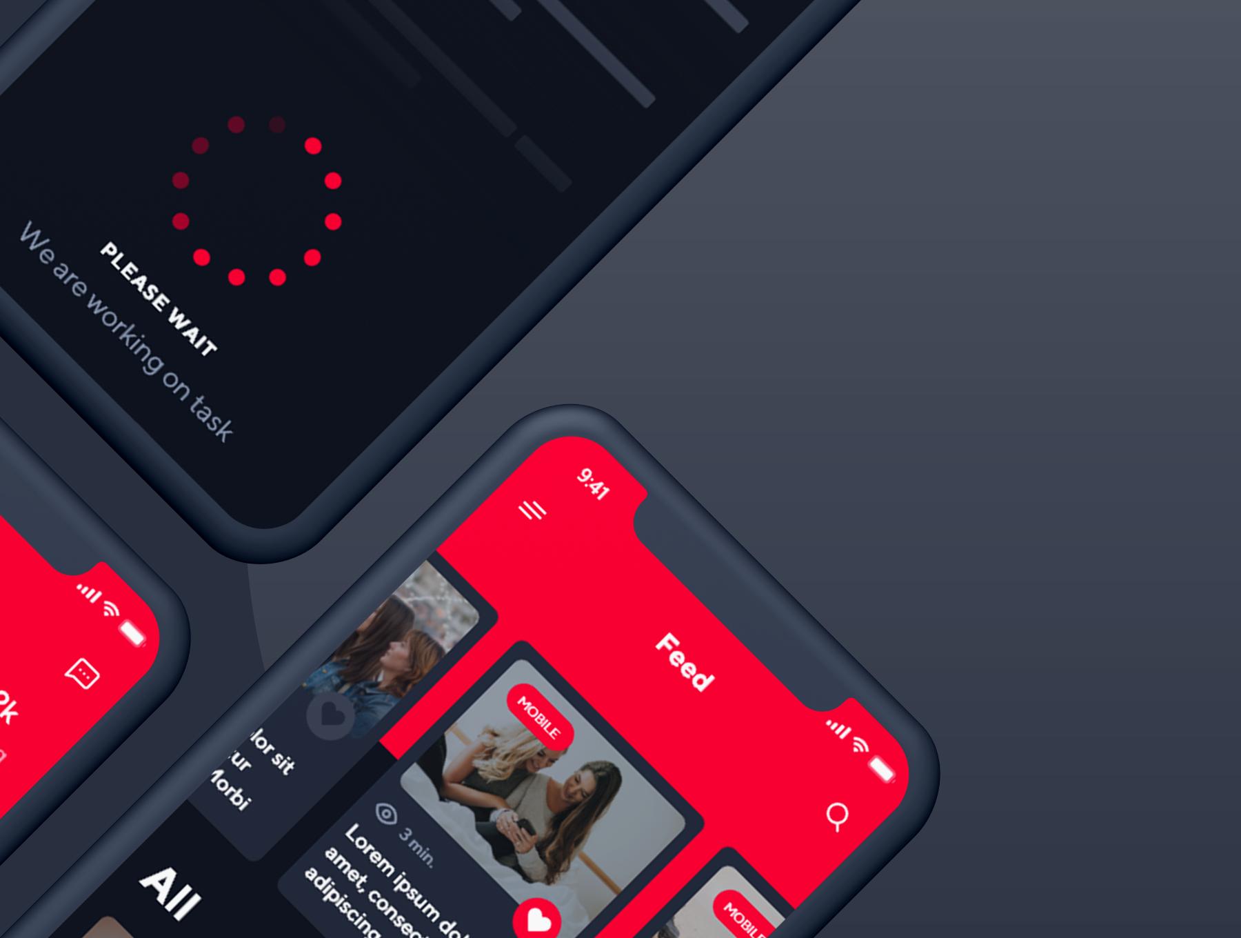 دانلود UI Kit موبایل جدید و آماده Viora