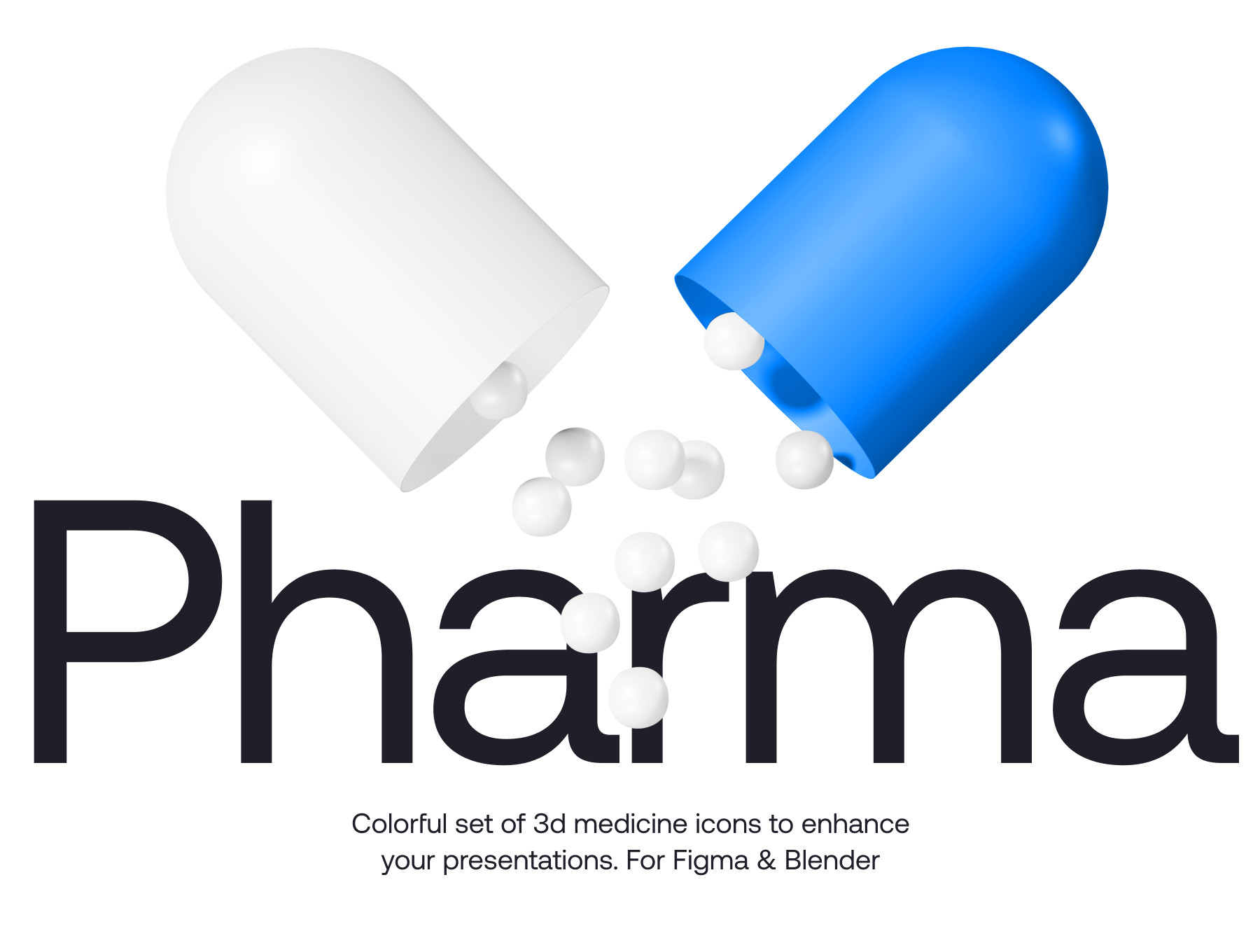 [VIP] Pharma 3d icons
