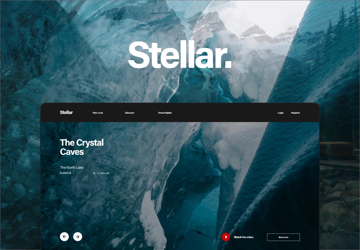 Stellar Web UI Kit Premium UI Kit For Adobe XD
