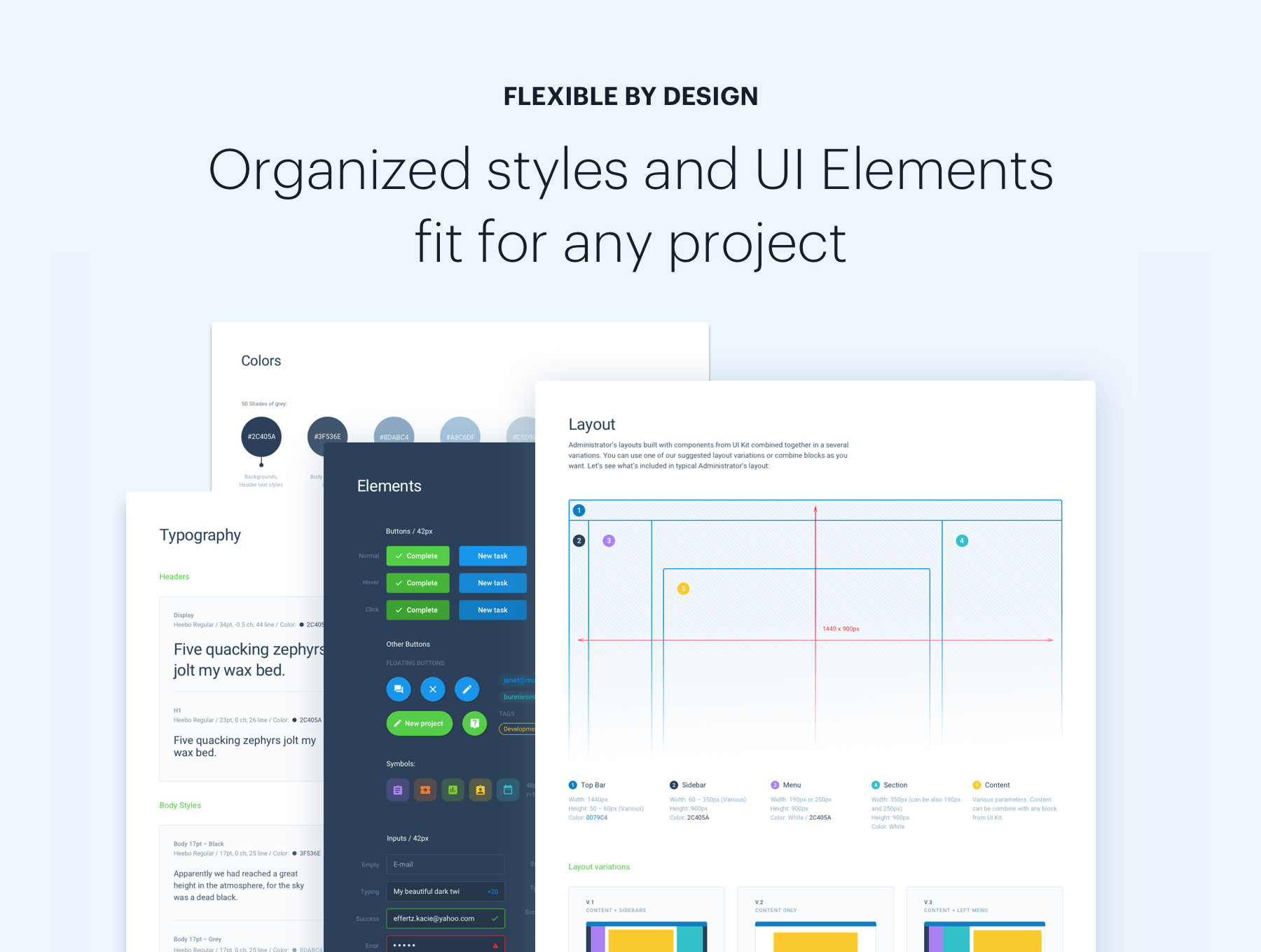 Administrator Dashboard: Sketch & Figma — UI Kits on UI8