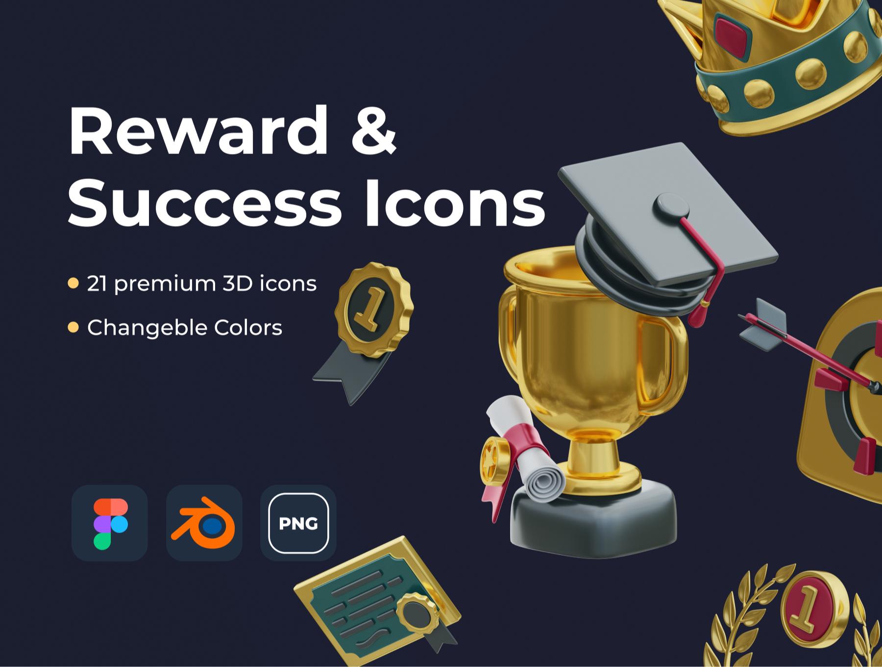 [VIP] Reward & Success Icons