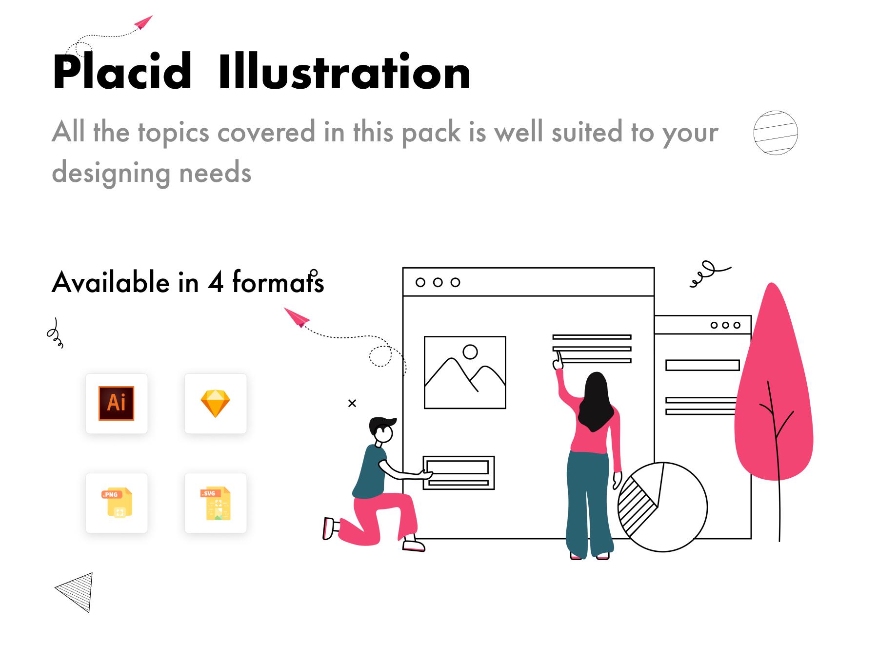 Placid Illustrations