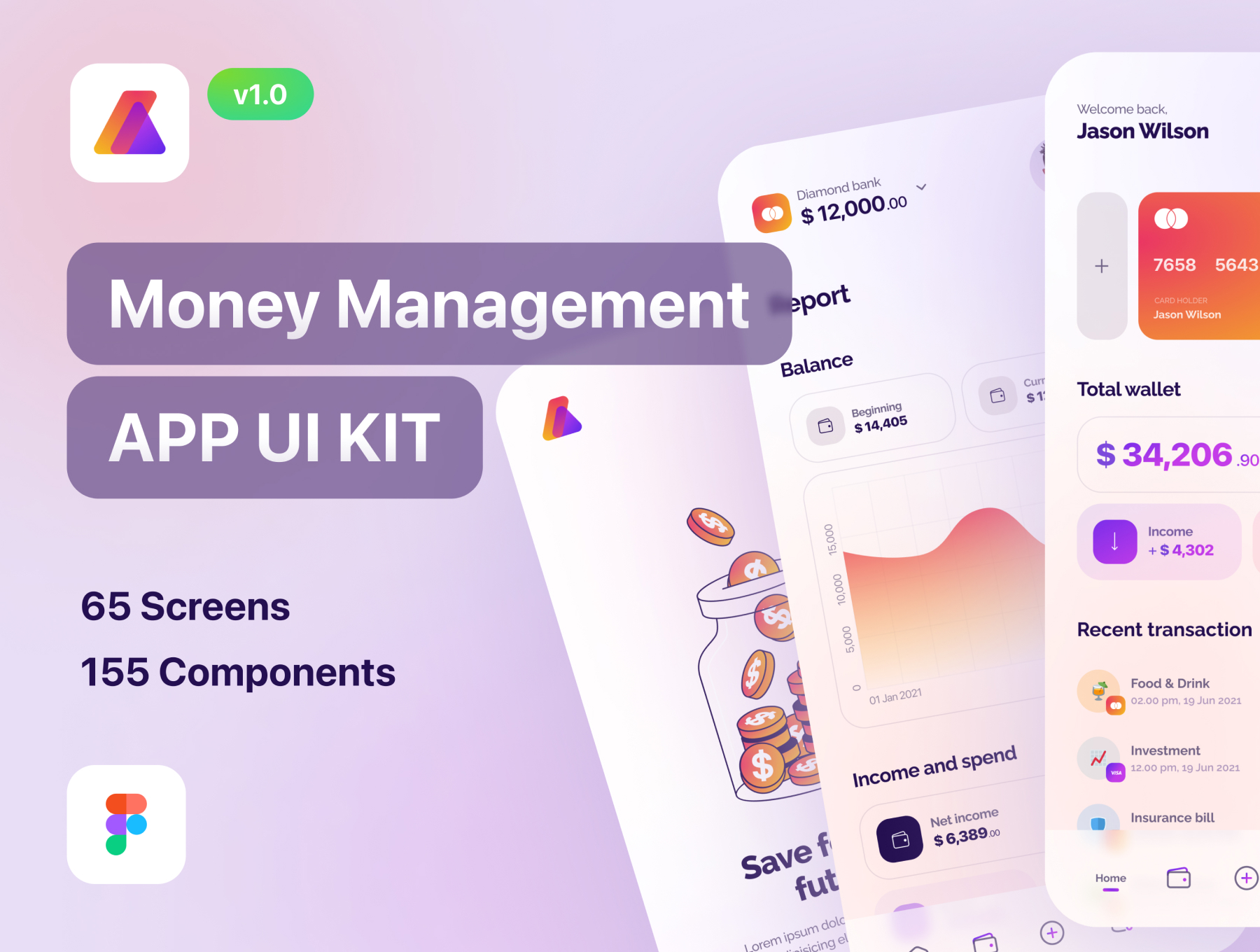 [VIP] Letify - Money Management App UI Kit