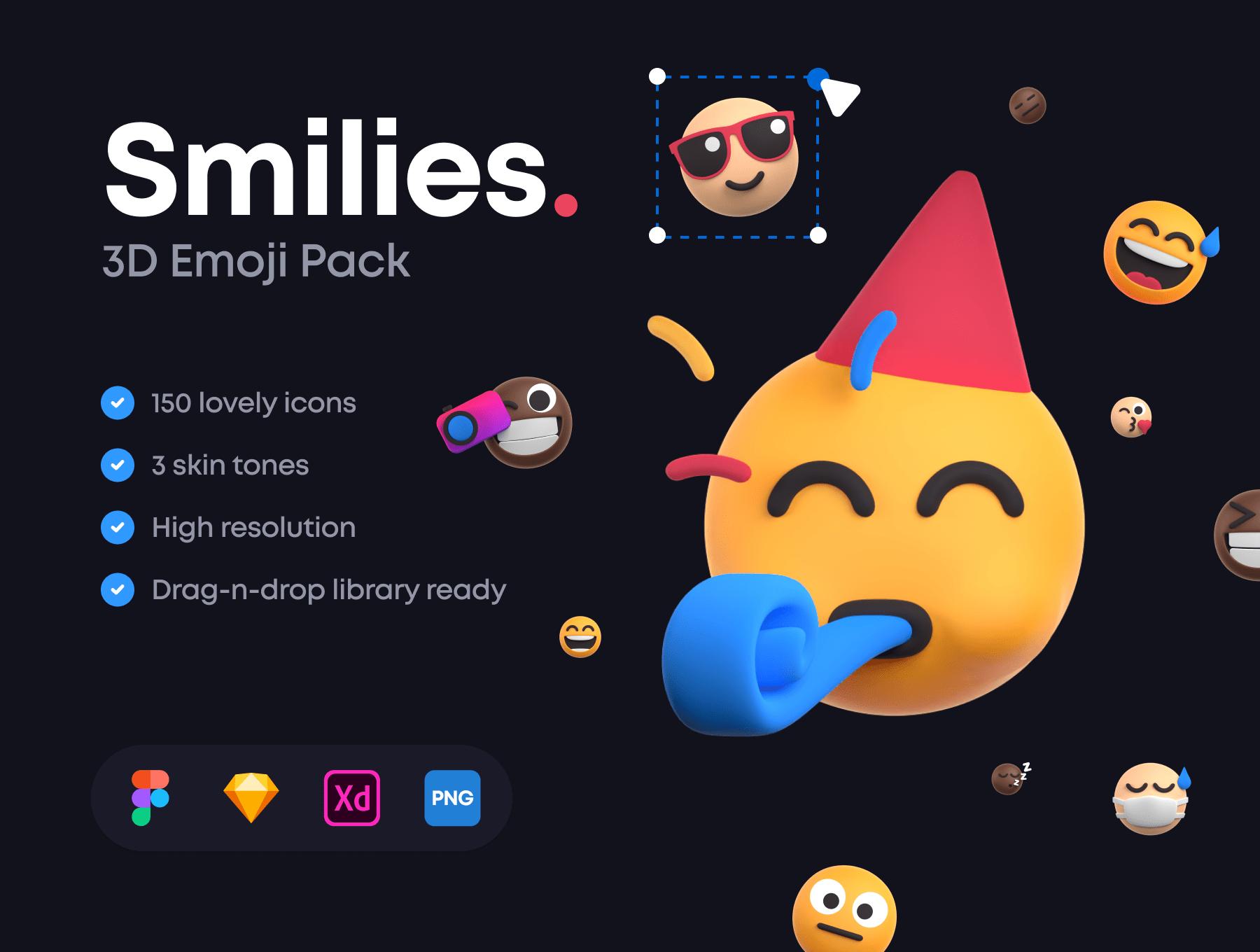 [VIP] Smilies: 3D Emoji Pack