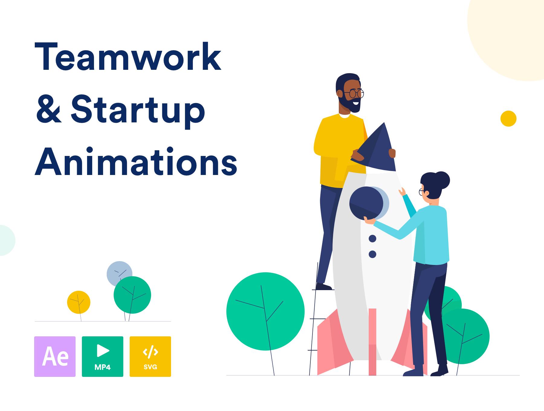<span class='yzk_title_64596'>Teamwork & Startup Animations</span>